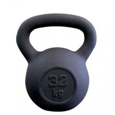 Гиря чугунная SportElite, 32 кг