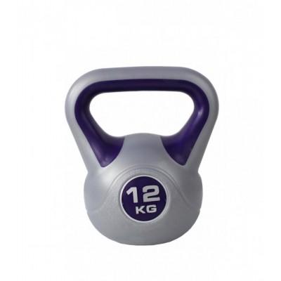 ZS-12 Гиря пластиковая 12кг, фиолетовый