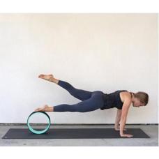 Колесо для йоги FF-32, зеленый