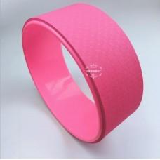 Колесо для йоги FF-32, розовый