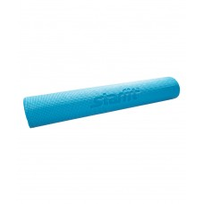 Коврик для йоги STARFIT FM-102 PVC 173x61x0,6 см, с рисунком, синий