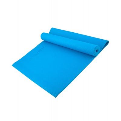Коврик для йоги STARFIT FM-101 PVC 173x61x0,3 см, синий
