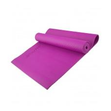 Коврик для йоги STARFIT FM-101 PVC 173x61x0,3 см, фиолетовый