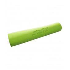Коврик для йоги STARFIT FM-102 PVC 173x61x0,4 см, с рисунком, зеленый