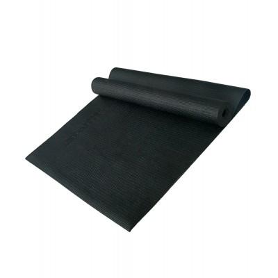 Коврик для йоги STARFIT FM-101 PVC 173x61x0,3 см, черный