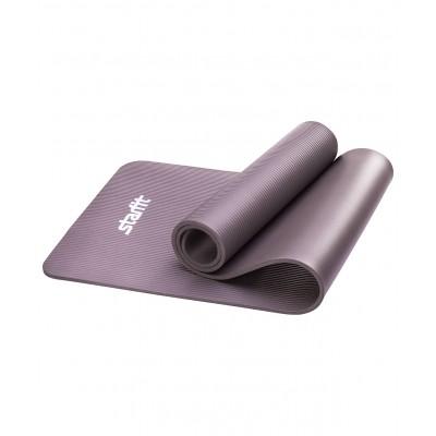 Коврик для йоги STARFIT FM-301 NBR 183x58x1,0 см, серый