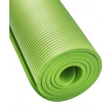 Коврик для йоги STARFIT FM-301 NBR 183x58x1,0 см, зеленый