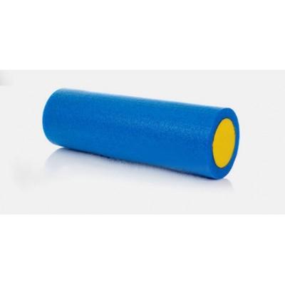 Ролик для пилатеса MICOGO KN1030 90х15 см синий/желтый