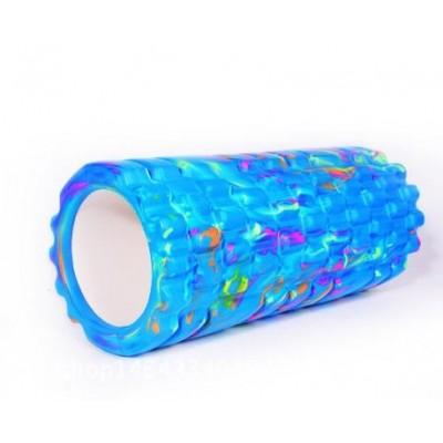 Ролик массажный 33х15 см KN1036 синий