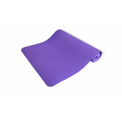 Коврик для йоги 6 мм однослойный TPE 1830x610x6 мм