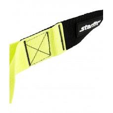 Тренировочные петли STARFIT FA-701, черный/зеленый 200 кг (TRX)