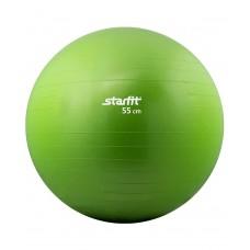 Мяч гимнастический STARFIT GB-101 55 см, зеленый (антивзрыв)