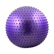 Мяч гимнастический массажный STARFIT GB-301 75 см, фиолетовый (антивзрыв)