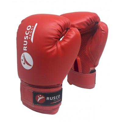 Перчатки боксерские, 8-10 oz, к/з, красные
