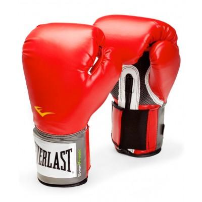Перчатки боксерские Everlast Pro Style Anti-MB красный, черный, синий