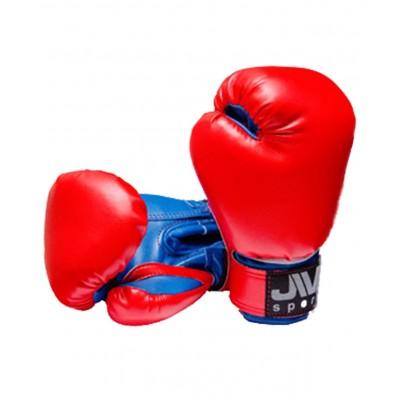 Перчатки боксерские детские Е-036, красный, синий