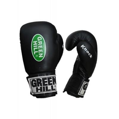 Перчатки боксерские Green Hill KNOCK черный
