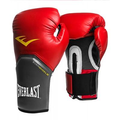 Перчатки боксерские Everlast Pro Style Elite, красный, синий