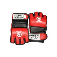 Перчатки для смешанных единоборств Green Hill COMBAT SAMBO, красный, синий