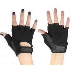 Перчатки для фитнеса универсальные STARFIT SU-114, черный