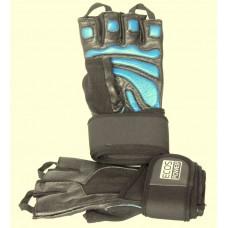 Перчатки для фитнеса мужские Ecos 2006-BM/BL/BXL, черный/синий