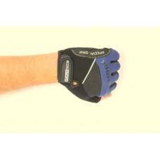 Перчатки для фитнеса мужские Ecos 2117-BM/BL/BXL, черный/синий