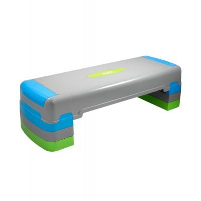 Степ-платформа STARFIT SP-203 90,5х32,5х25 см, 3-х уровневая