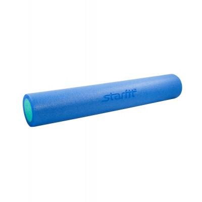 Ролик для йоги и пилатеса STARFIT FA-502 15*90см, синий/голубой