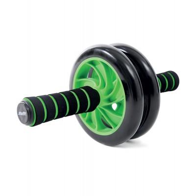 Ролик для пресса STARFIT RL-102 PRO, зеленый/черный