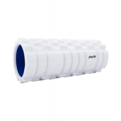 Ролик массажный STARFIT FA-503 140*330мм, белый/синий