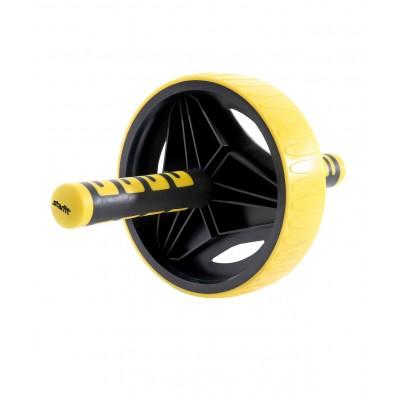 Ролик для пресса STARFIT RL-105, черный/желтый