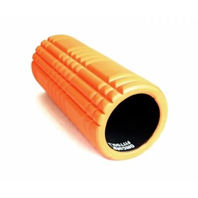 Цилиндр массажный оранжевый 32х13 см
