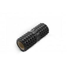 Ролик массажный JIF-01, 33х14 см, черный
