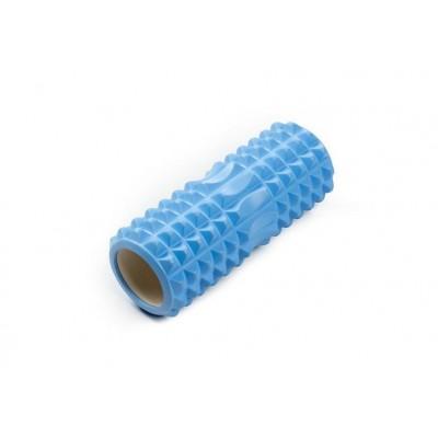 Ролик массажный JIF-01, 33х14 см, синий