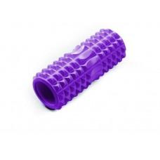 Ролик массажный JIF-01, 33х14 см, фиолетовый