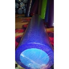 Ролик для йоги и пилатеса KN60 синий-голубой 60х15 см
