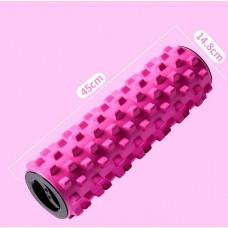 Массажный ролик Aimeishi KN45 розовый 45х15 см