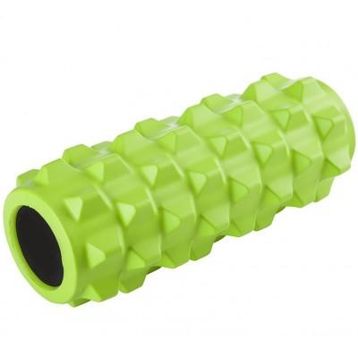 Ролик массажный KN-32, зеленый