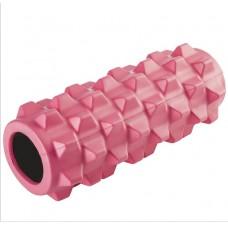 Ролик массажный KN-32, розовый