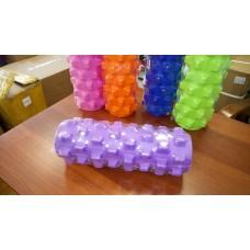 Ролик массажный KN-32, фиолетовый