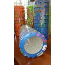 Ролик массажный 33х15 см KN1037 синий/розовый