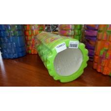 Ролик массажный 33х15 см KN1044 зеленый