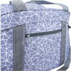 Спортивная сумка для йоги Sky Mydays, фиолетовая с узором