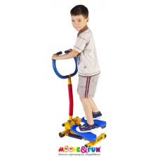 """Тренажер детский механический """"Степпер"""" с компьютером"""