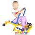 Тренажер детский механический гребной с двумя рукоятками
