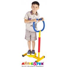 """Тренажер детский механический """"Твистер"""" с ручкой"""