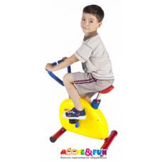 """Тренажер детский механический """"Велотренажер"""" с компьютером"""